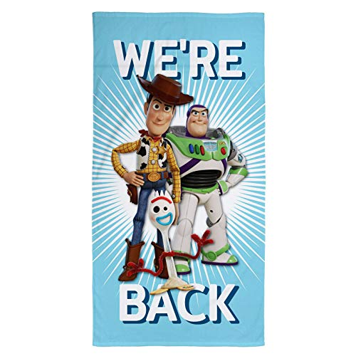 Character World Toy Story 4 We're Back Beach Towel