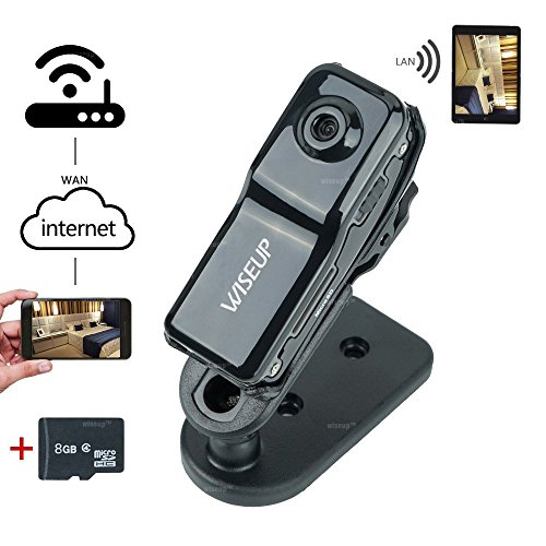 WiseupTM Network Portable Wireless Camcorder