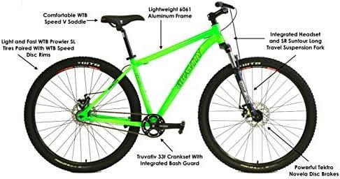 Gravity G29 FS 29er Bicicleta de montaña de una Sola Velocidad + Frenos de Disco de suspensión bloqueables: Amazon.es: Deportes y aire libre