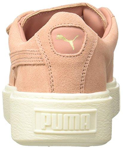Puma Correa De La Plataforma Del Ante 36458603, Turnschuhe Roja