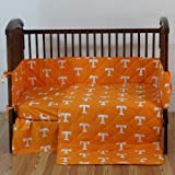 College Covers Tennessee 5 Pc Baby Crib Logo Bedding Set