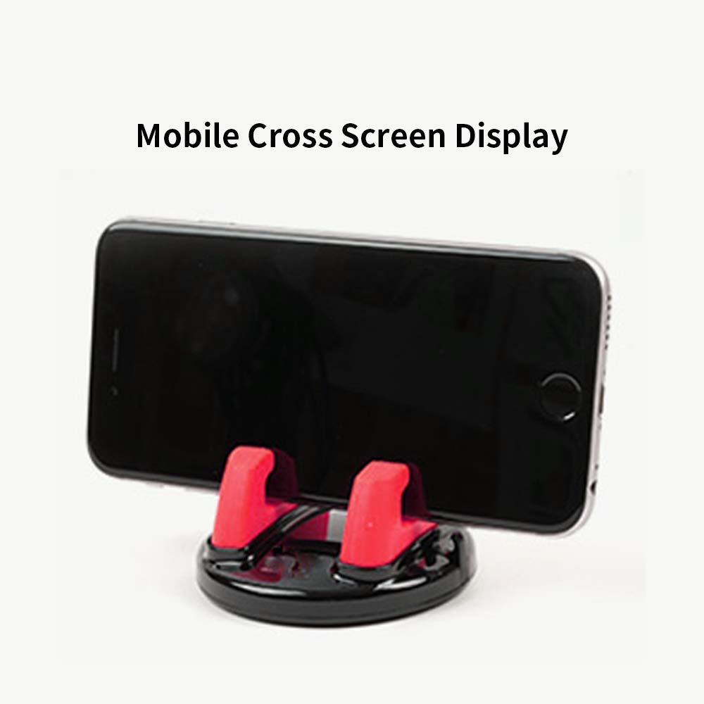 Xiaomi,LG Red,1-Pack Sony Or Other Devices Nexus Pixel Huawei Samsung S8//7//6 Note Instrument Panel Silicone Car Mount Phone Holder Mobile Phone and Base not Slipping,for iPhone X 8 7 7 Plus