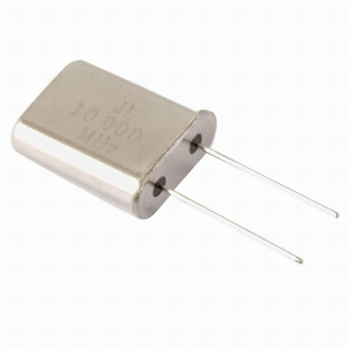 Fuxell 100 Pcs 10MHz 10.000MHz DIP Cyrstal Oscillators HC-49/U