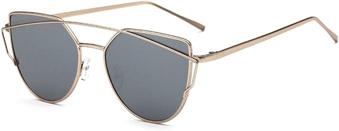Einzigartige Mode Cat Eye Sonnenbrille Frauen Brillen