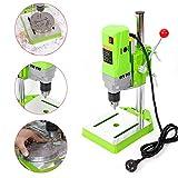 Mini Electric Bench Drill Press Stand Mini Portable Press Workbench Wood Drilling Machine Iron Wood for DIY 710W (USA Stock)