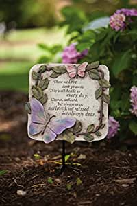 """10"""" Those We Love Don't Go Away Outdoor Garden Stepping Stone"""