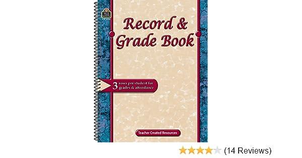 Record & Grade Book: Teacher Created Resources Staff