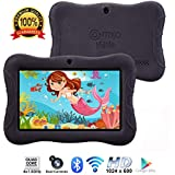 "Contixo Kids Tablet K3 | 7"" Display Android 6.0 Bluetooth WiFi Camera Parental Control for Children Infant Toddlers Includes Tablet Case (Black)"