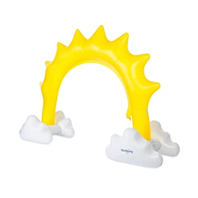 HearthSong Inflatable Sunshine Sprinkler: Toys & Games