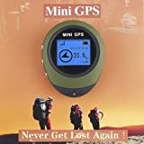 Sports Handheld Gps Best Deals - Docooler Mini Handheld GPS Navigation For Outdoor Sport Travel (Army green)
