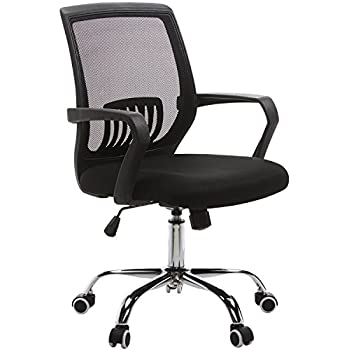 VECELO Adjustable Computer / Office / Task Chair   360 Degree Swive