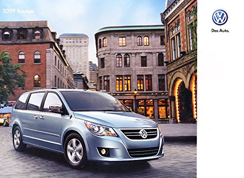 2009-volkswagen-routan-van-28-page-original-sales-brochure-catalog