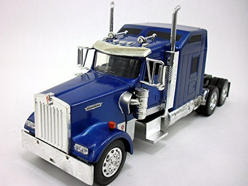 Kenworth W900 Truck Diecast Metal 1/32 Scale Model - BLUE