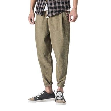 Pantalones De Los Hombres De Boxeo Gimnasio Pantalones De Ocio ...