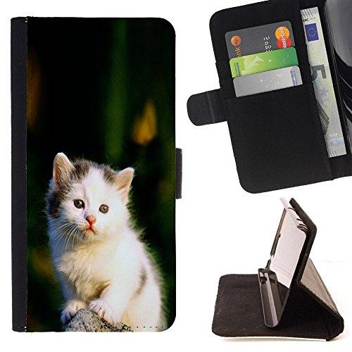 STPlus Gato en una caja Animal Monedero Carcasa Funda para Samsung Galaxy Note 5 #8