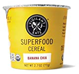 Vigilant Eats Organic Banana Chia Superfood Cereal, 2.7 Ounce - 12 per case.