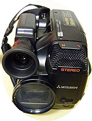 Detalles a cámara Mitsubishi CX 4 Video Camera Mitsubishi VHS de c ...