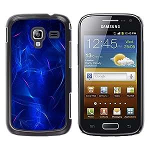 Be Good Phone Accessory // Dura Cáscara cubierta Protectora Caso Carcasa Funda de Protección para Samsung Galaxy Ace 2 I8160 Ace II X S7560M // Electric Lava Plasma Black