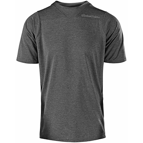 Troy Lee Designs Skyline S/S Men's BMX Jersey - Heather Gray / X-Large ()