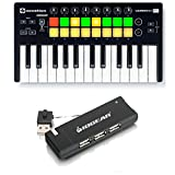 Novation Launchkey Mini with 4-Port USB Hub