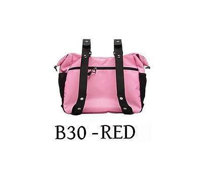 Amazon.com: Capezio B30 rojo lona Convertible bolsa bolsa de ...