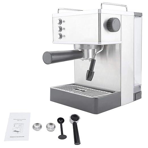 Jimfoty Cafeteras, cafetera de café Espresso de Acero Inoxidable ...
