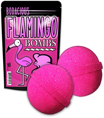 Flamingo Bombs Bath Bombs - Flamingo Bath Balls Funny Pink Gifts for Girls Flamingo Friend Gifts for Women Pretty Pink Bath Bombs Stocking Stuffers for Girls Fun White Elephant Ideas Secret Santa Gift