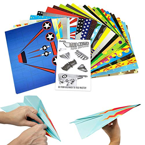kangaroo s paper airplane kit 72 paper airplanes import it all