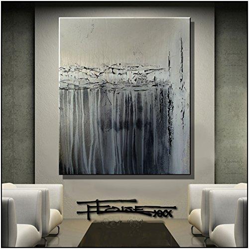 original-abstract-painting-modern-fine-art-36x30-minimal-mineral-textural-gloss-finish-ready-to-hang