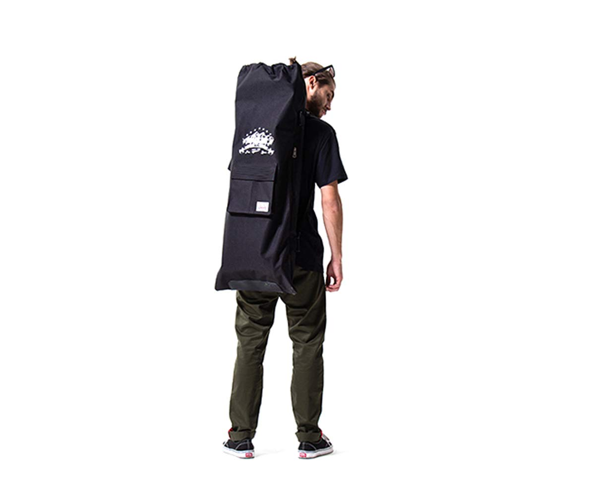 Maxfind LongBoard Skateboard Hover Board Bag Carry Bag Handy Backpack Handbag