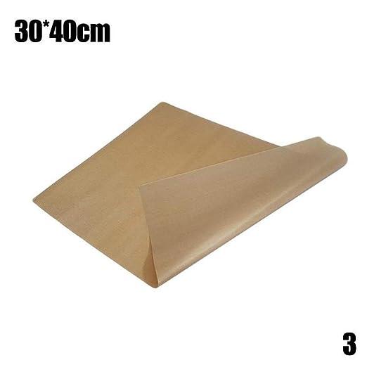 Rushb 30x40 40x60 Estera para Hornear Reutilizable Hoja de teflón ...