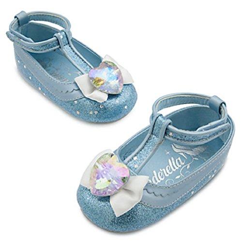 Disney Authentic - Cinderella Costume Shoes for Baby - size 12 - 18 months (Cinderella Baby Costume)