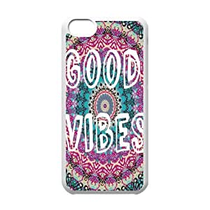 Good Vibes Original New Print DIY Phone Case for Iphone 5C,personalized case cover ygtg582824 by mcsharks