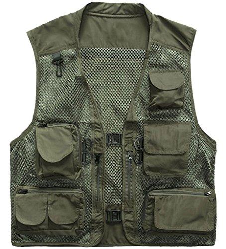 12 Pocket Mens Vest - 8