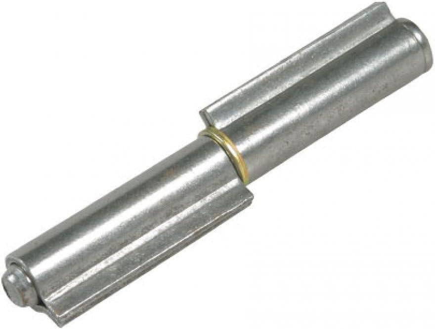 Bisagras de soldar a 2alas piezas perno Sfilabile 140mm 14cm puerta garaje