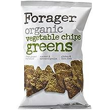 Forager Glueten Free Corn Free Organic Vegetable Chips 5oz (Green) - Pack of 12