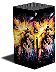 MightySkins Skin Compatible with Xbox Series X - Leo Galaxy   Protective, Durable, and Unique Vinyl Decal wrap Cover   Easy to Apply, Remove, and Change Styles   Made in The USA (MIXBSERX-Leo Galaxy)
