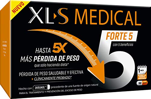 XLS Medical Forte 5 origen natural 100% vegano