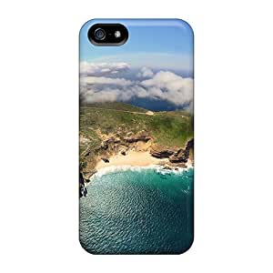 Iphone 5/5s Case Slim [ultra Fit] Cape Town In Fisheye Protective Case Cover