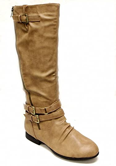 Amazon.com | Top Moda Coco-55 Women knee high boots particular ...