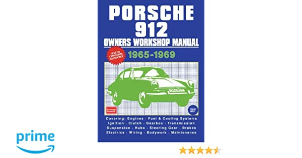 1969 Porsche 912 Owners Handbook and Service Manual