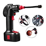 portable air power - Meditool Portable Air Compressor Pump,Electric Power Inflator Hand Held Pump with Li-ion 12V 150PSI,Built in LED Light