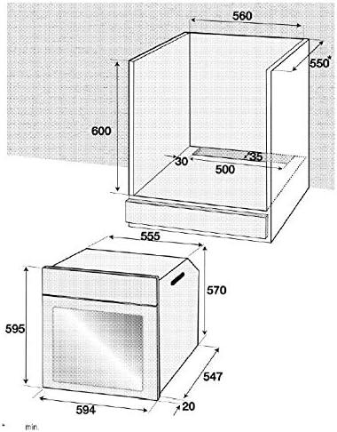 Beko - Horno Multifunción Beko Bce12300X Compacto: 208.33: Amazon.es: Grandes electrodomésticos