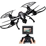 Sky Hawk FPV Drone with 2.0MP HD Camera High-hold Mode One-Key-return Headless 2.4GHz 6-Axis RC Quadcopter