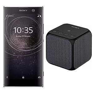 Sony Xperia XA2 Unlocked Smartphone (32GB/Black) with Sony SRS-X11 Portable Wireless Bluetooth Speaker (Black)