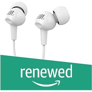 Renewed  Jbl C150Si in ear Headphones ,White