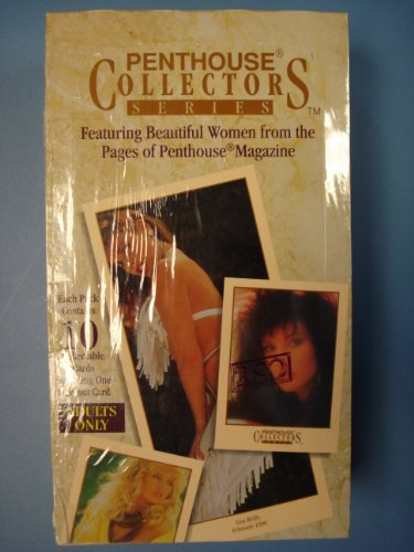 Penthouse Collectors Series Trading Cards Adult Sealed Box by Penthouse