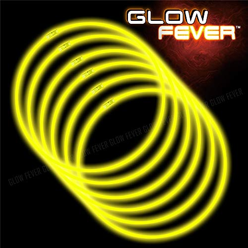 Glow Sticks Bulk 50ct 22'' Glow Necklaces with Connectors, for Party Festivals Raves Birthday Wedding, ()