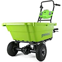 Greenworks GC40L00 40V Cordless Garden Cart Battery Not Included