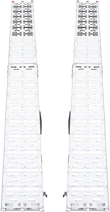 Rampa de carga gris aluminio max 680 kg plegable par MAVATV003 (5 ...